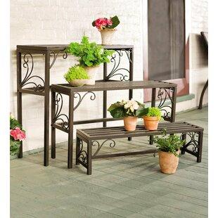 Charmant Rectangle 3 Piece Plant Stand Set