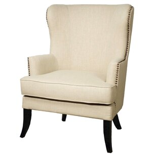 Affordable Elfrida Wingback Chair by Darby Home Co Reviews (2019) & Buyer's Guide