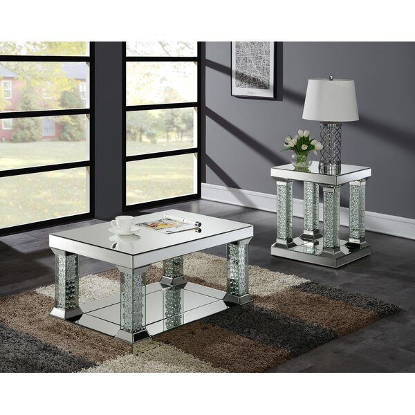 Furniture World Lucca 2 Piece Coffee Table Set Reviews Wayfair