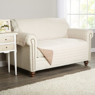 Wayfair Basics Box Cushion Loveseat Slipcover