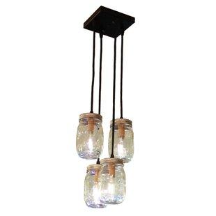 Sidra 4-Light Jar Pendant