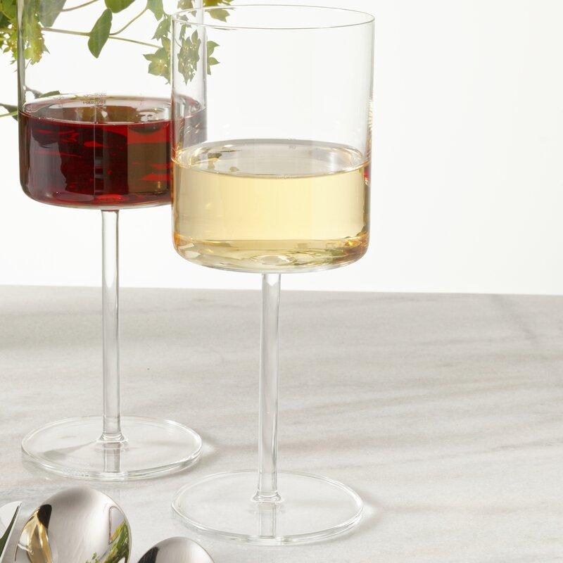Schott Zwiesel Modo 13 5 Oz Crystal White Wine Glass Reviews Wayfair