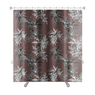Kilo Floral Premium Single Shower Curtain