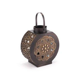 Coaster Flores Steel Lantern