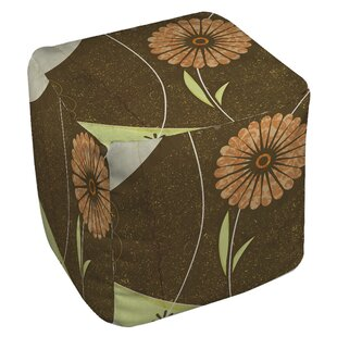 Graphic Garden Suri Pouf by Manual Woodworkers & Weavers