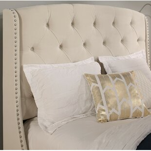 Chenery Upholstered Wingback Headboard by Darby Home Co