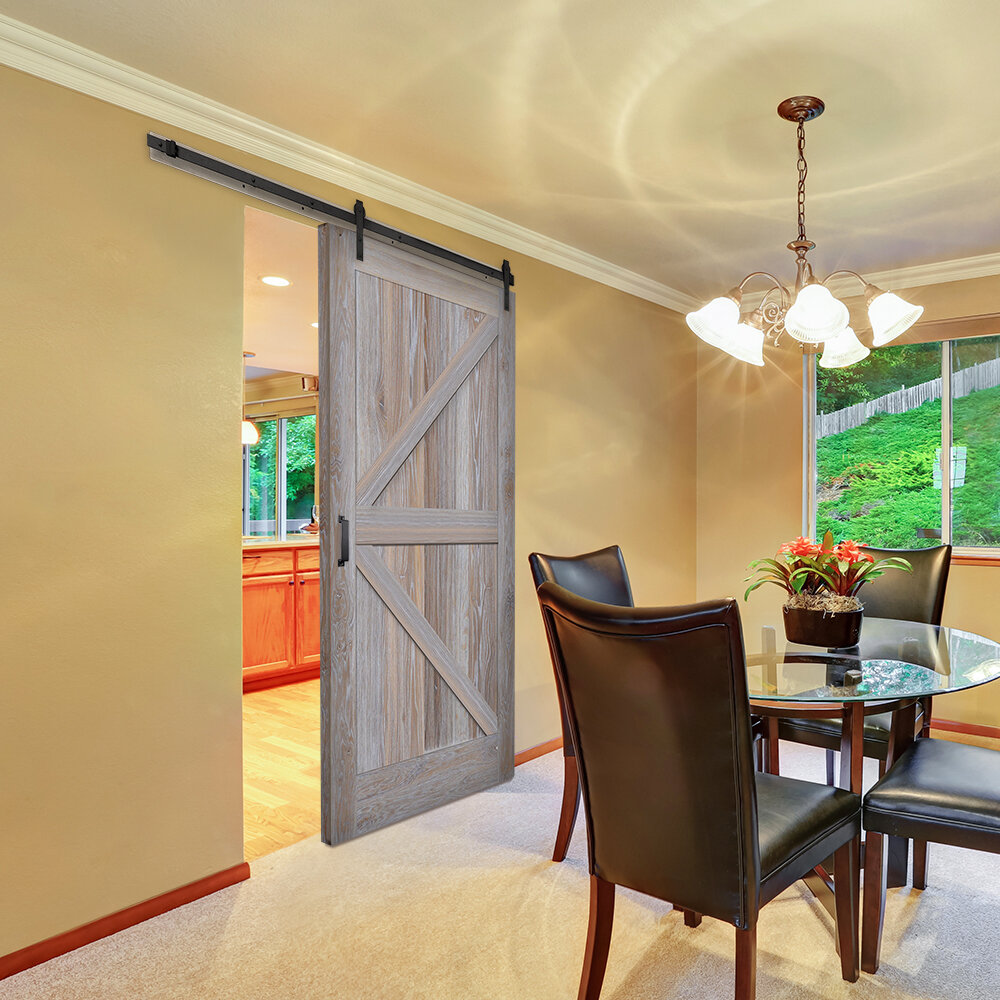 Verona Home Design Paneled Manufactured Wood Finish Knotty