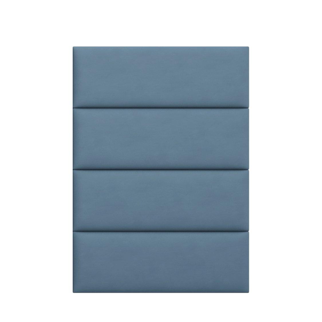 Vant Panels SAMPLE - Microsuede Wall Paneling in Ocean Blue | Wayfair