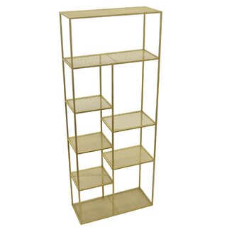 Andes Geometric Bookcase by Mercer41 SKU:BB864506 Shop