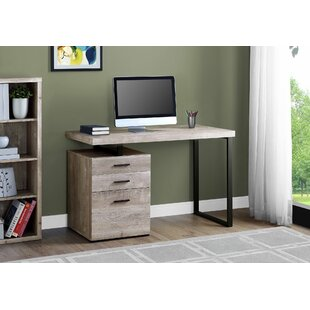 Schulz Solid Wood Computer Desk by Union Rustic