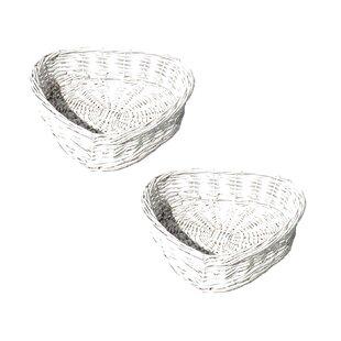 Wicker Basket (Set Of 2) By House Of Hampton
