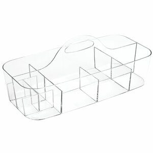 Clarity Bath Tote Cosmetic Organizer