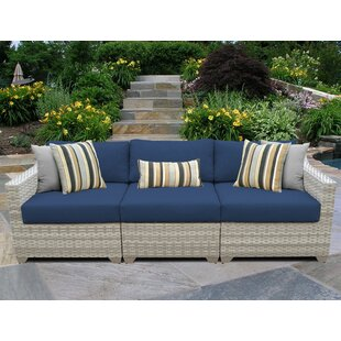 Ansonia Patio Sofa with Cushions