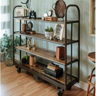 Napa East Collection Cart Etagere Bookcase