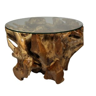 Reviews Organic Teak Coffee Table by Ibolili