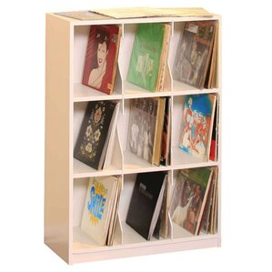 LP Record Tabletop Storage by Gothic Furniture