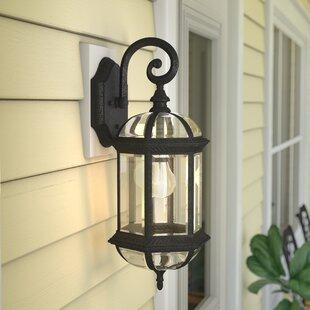 Hartshorne 1-Light Outdoor Wall Lantern