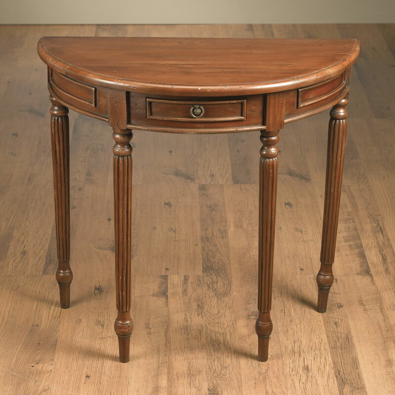 "AA Importing Half Round 32.5"" Console Table"