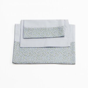 Luz Cotton 3 Piece Crib Bedding Set