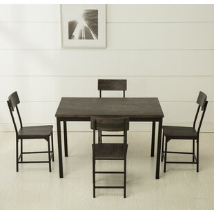Bushman 5 Piece Dining Set by Williston Forge