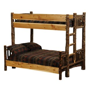 Hickory Twin over Queen Bunk Bed