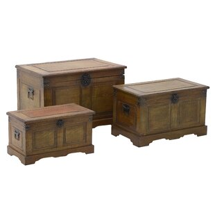 Brunner 3 Piece Trunk Set By Union Rustic