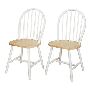 TMS Classic Solid Wood Dining Chair (Set of 2)