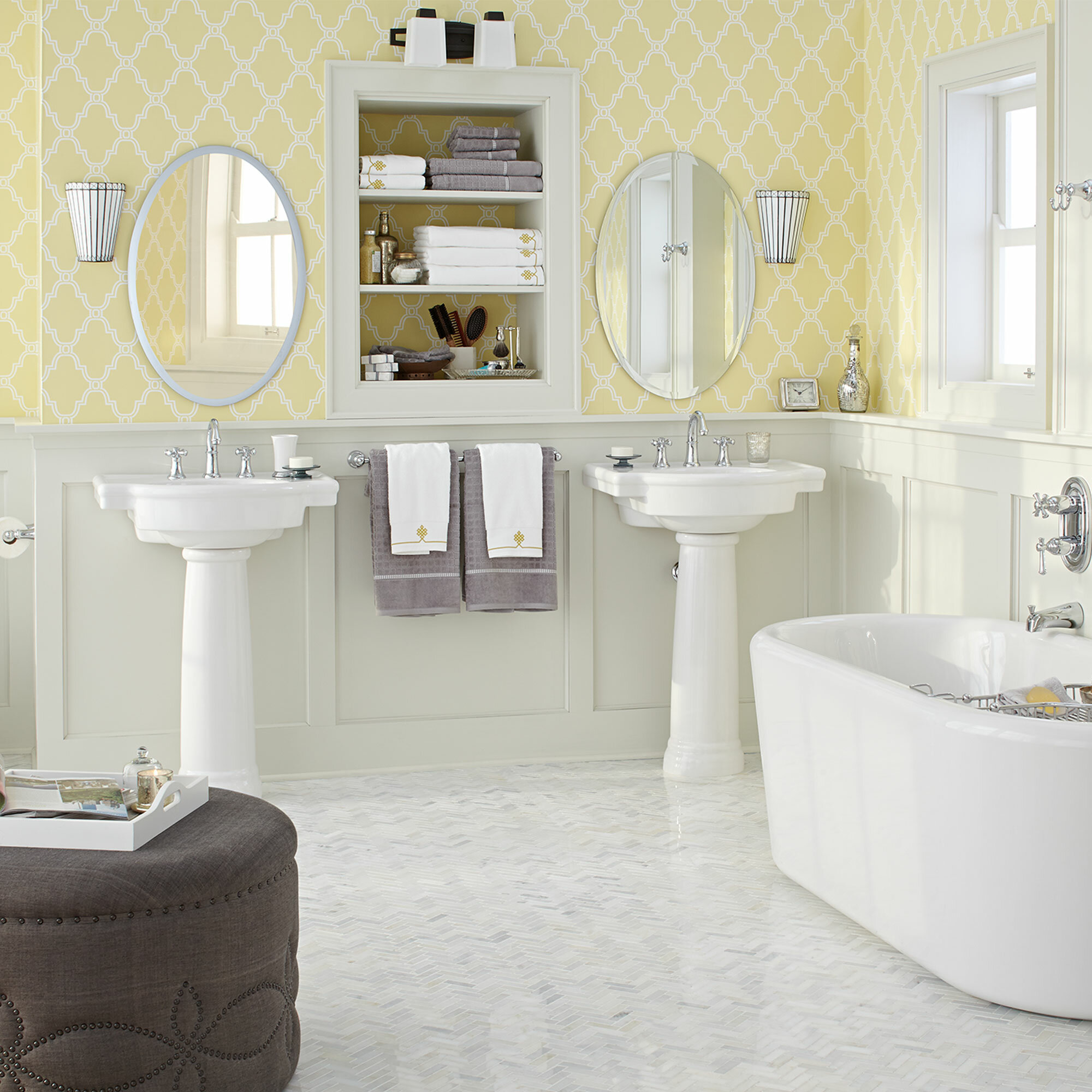 Get Inspired with These Bathroom Wallpaper Ideas (With Photos