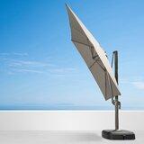Verdell 10 Square Cantilever Sunbrella Umbrella