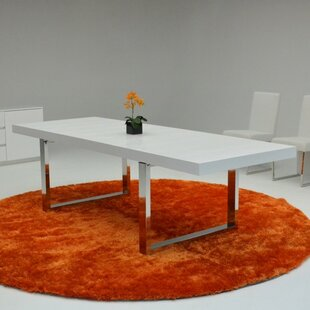 Carole Extendable Dining Table by Orren Ellis