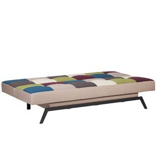 Leo 3 Seater Sofa Bed By Mercury Row