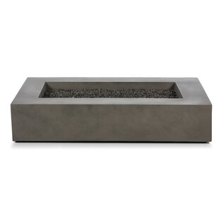 Yessenia Concrete Propane/Natural Gas Fire Pit Table