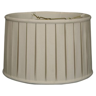 Savings 14 Linen Drum Lamp Shade By Alcott Hill