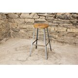 Basic Brew Bar & Counter Stool (Set of 4) by The Strong Oaks Woodshop