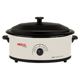 6-Quart Roaster Oven by Nesco Today Sale Only
