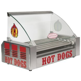 18-Dog Hot Dog Roller with Food Guard