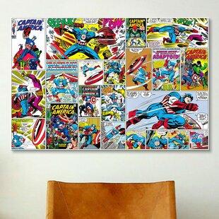 Captain America Wall Art | Wayfair