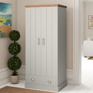 Chapin 2 Door Wardrobe By Brambly Cottage
