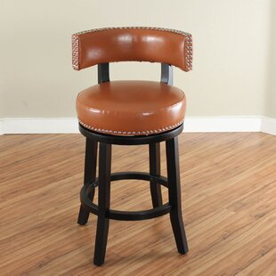 Cyril 26 Swivel Bar Stool by Alcott Hill