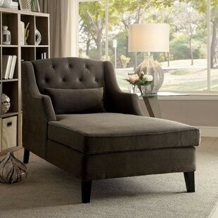 Darby Home Co Epperly Wooden Chaise Lounge