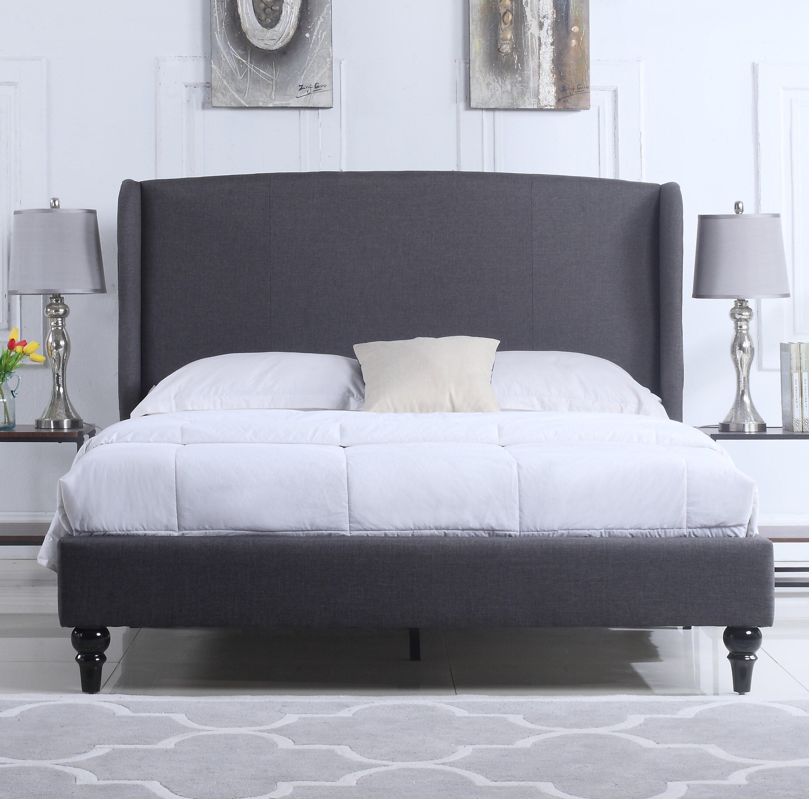linen dark wallpaint photos walmart padded tufted simone com grey designs multiple sizes black homevance headboard country bedroom velvet upholstered of queen wingback curtis i gray light full size