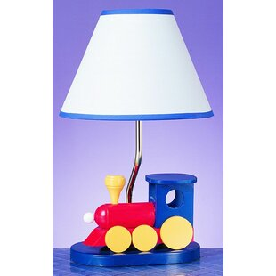 Affordable Giddens Train 15 Table Lamp By Zoomie Kids