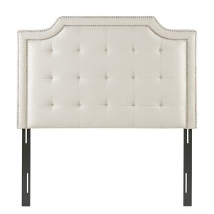 Best Britney Queen Upholstered Panel Headboard by Charlton Home