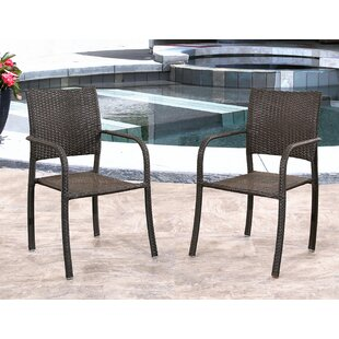 Wade Logan Jakob Patio Chair (Set of 2)