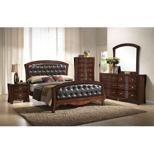 Astoria Grand Pulido Panel 5 Piece Bedroom Set