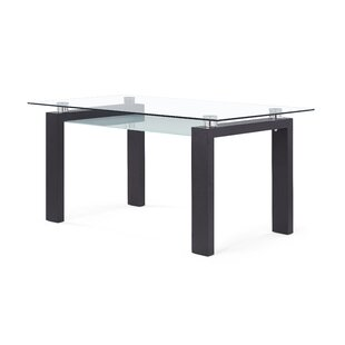 Top Reviews Candelario Dining Table By Wade Logan