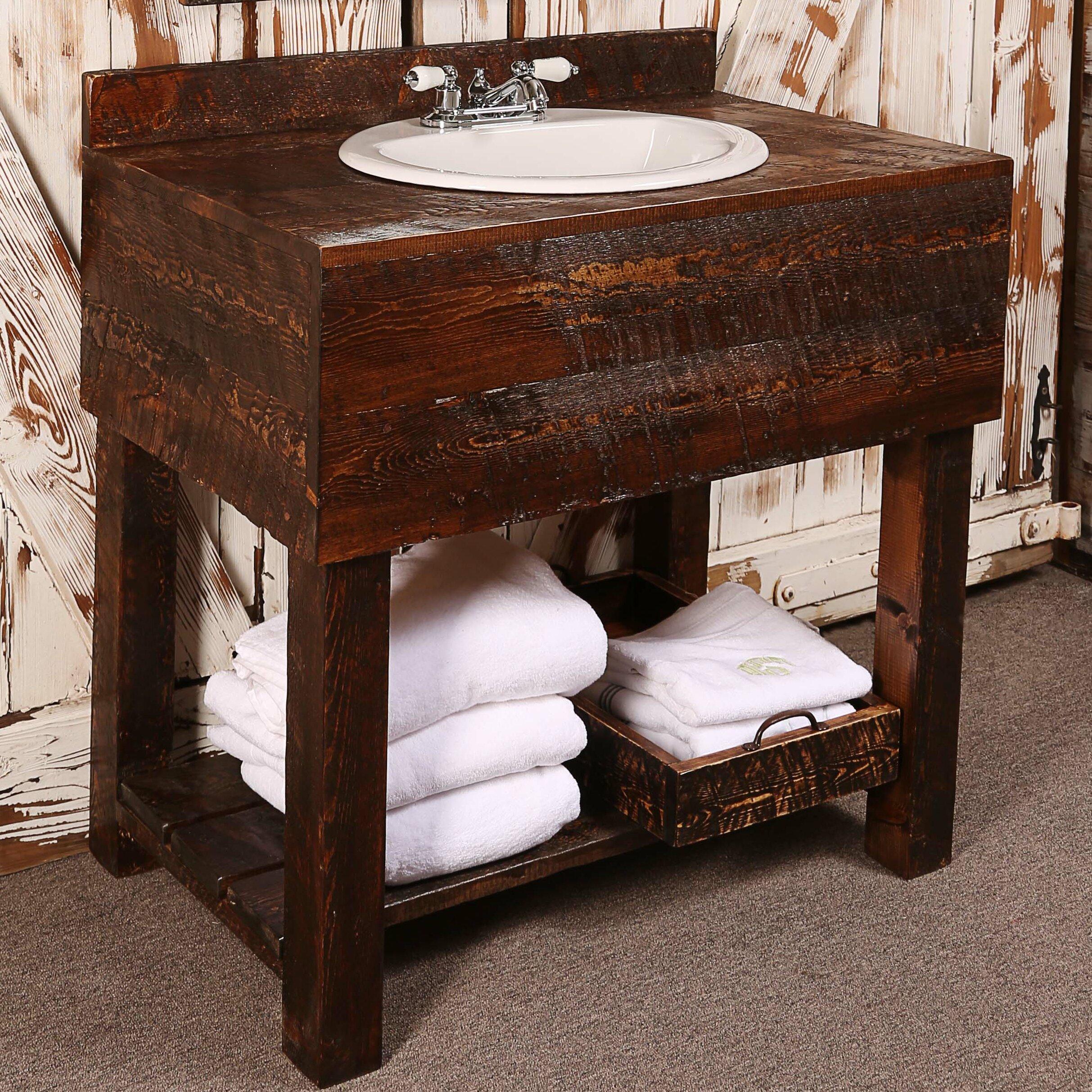 Loon Peak Doss 36 Single Bathroom Vanity Set Reviews Wayfair