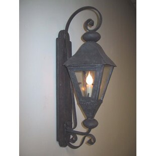 Buy luxury La Jolla 1-Light Outdoor Wall Lantern By Laura Lee Designs