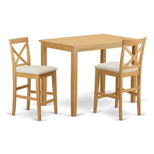 Yarmouth 36 3 Piece Pub Table Set
