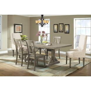Mcwhorter 5 Piece Solid Wood Dining Set